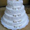 13-15 kg tort weselny malinowo -borówkowy #weselny #wesele #TortyWeselne #TortyOkazjonalne