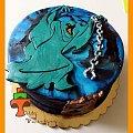 Tort z potworem ze Scooby'ego Doo #duchy #potwory #ScoobyDoo #tort #TortDlaChłopca #TortyKrakó #TortyWalentynki