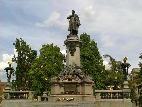 Warszawa - pomnik Mickiewicza #PomnikStatueMonumentSculpture