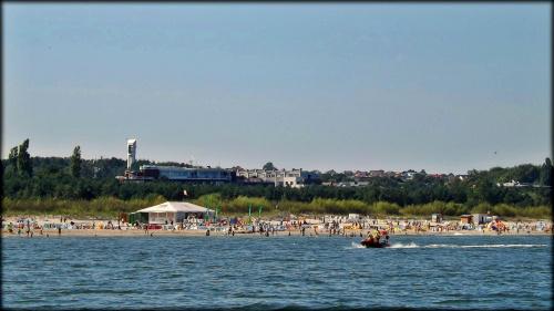 Władysławowo widok z morza #morze