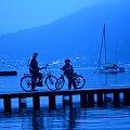 AUSTRIA .... Traunsee ... #Austria #Gmunden #Traunsee #rowery #rowerowa #woda #podróże #CZARNYRYCERZ