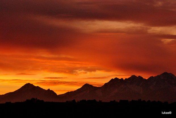 #Góry #górki #góreczki #Tatry #WschódSłońca