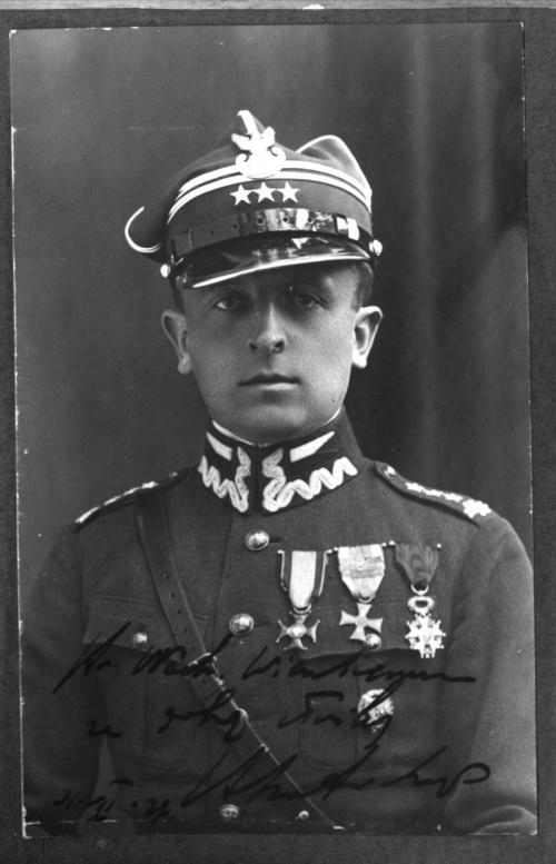 Dedykacja dowódcy dla wachm. Władysława Wienke #SkotnickiWienke