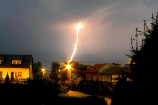 piorun, burza, błyskawica #LetnieBurze #błyskawica #piorun #nawałnica
