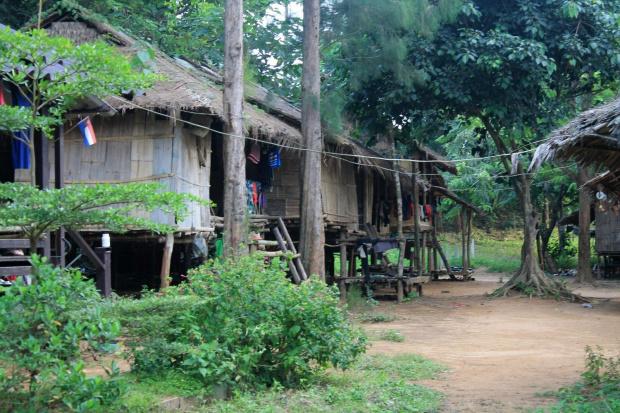 wioska w pobliżu granicy z Birmą #Tajlandia