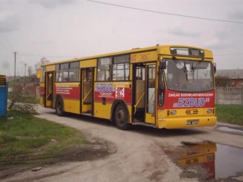 Zdjęcie archiwalne z 2005 roku , Jelcz #67 tomaszowskiego MZK pętla Niebrów #mzk #TomaszówMazowiecki #jelcz