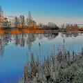 ...na słonecznej stronie ziemi... #jezioro #woda #staw #Dołek