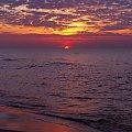 Jastrzębia Góra #słońce #zachód #morze #JastrzębiaGóra #Bałtyk