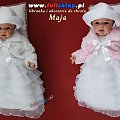 do chrztu sukieneczki z bolerkiem białym i różowym #DoChrztuSukieneczki #NaChrzestSukieneczka #bolerka #różowe #białe #różowa #biała