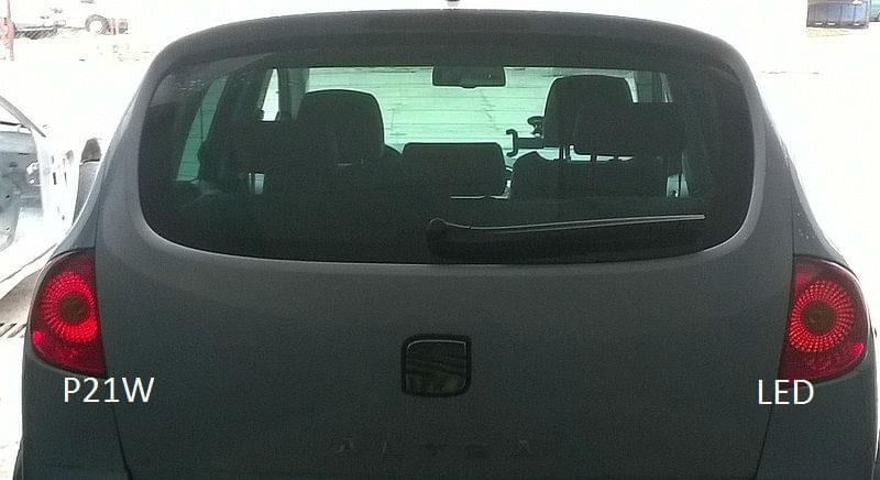 Seat Altea żarówki Led P21w I W5w Seat Forum