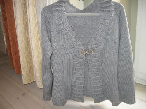 szary sweterek #BabyAlpakaSilk #sweterek