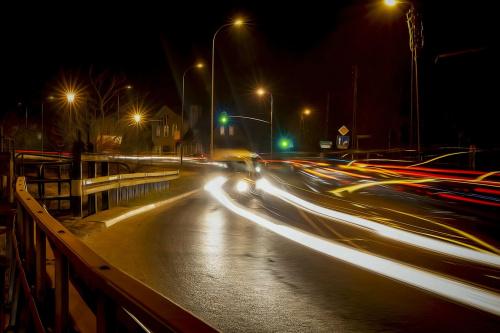 Oliwa nocą #GdańskOliwa #MiastoNocą #nocne #Oliwa #światła