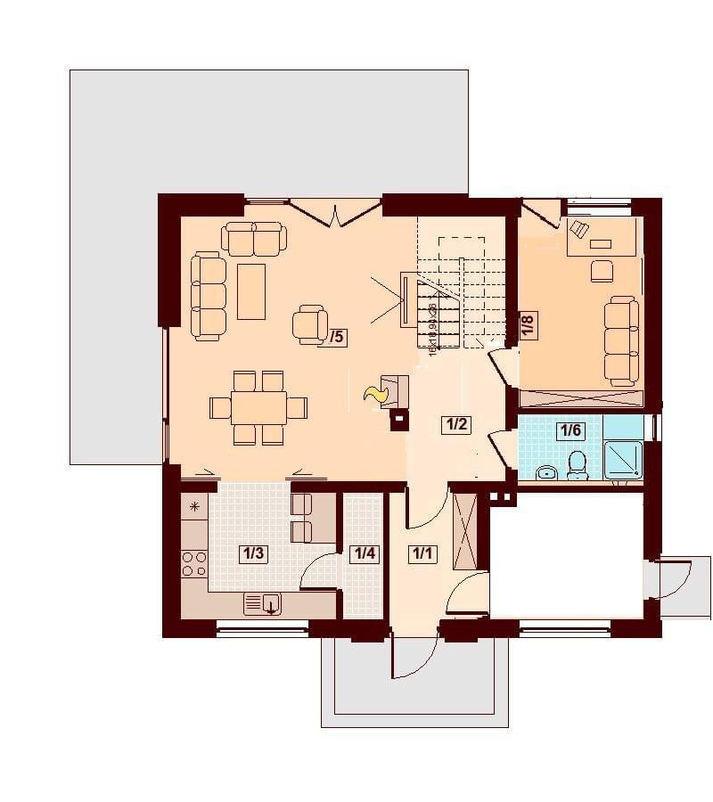 Projekt Armanda Pracownia Domplan Projekty Domow I Architektura