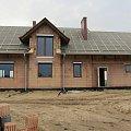 Widok domu z tyłu. #lobelia #budowa #dom #projekt