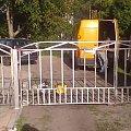 brama skrzydłowa #bramy #PrzedmiotyZeStali