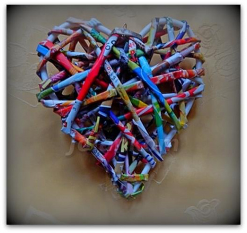 serce kolorowe